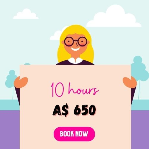 website support services 10 hours